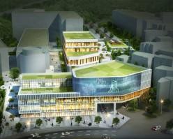 동국대학교의 새로운 랜드마크, 로터스관